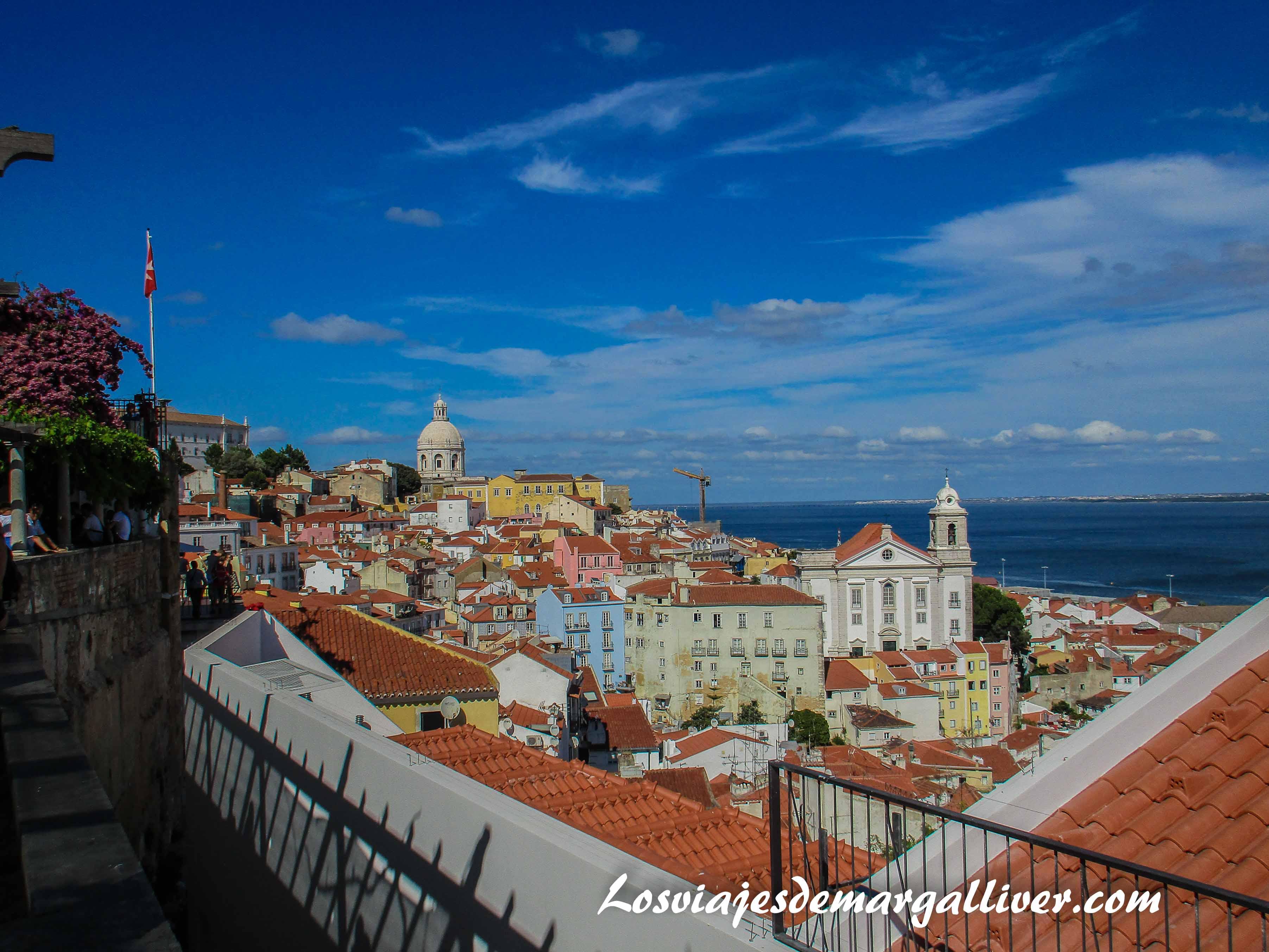 Mirador de Santa Lucía en Lisboa - Los viajes de Margalliver